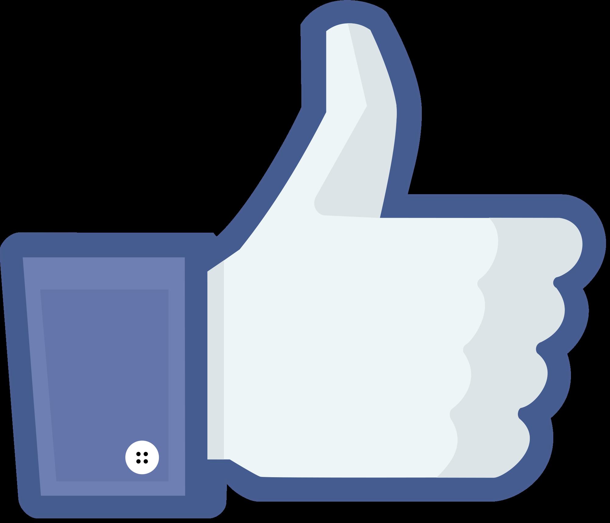 Facebook Like PNG