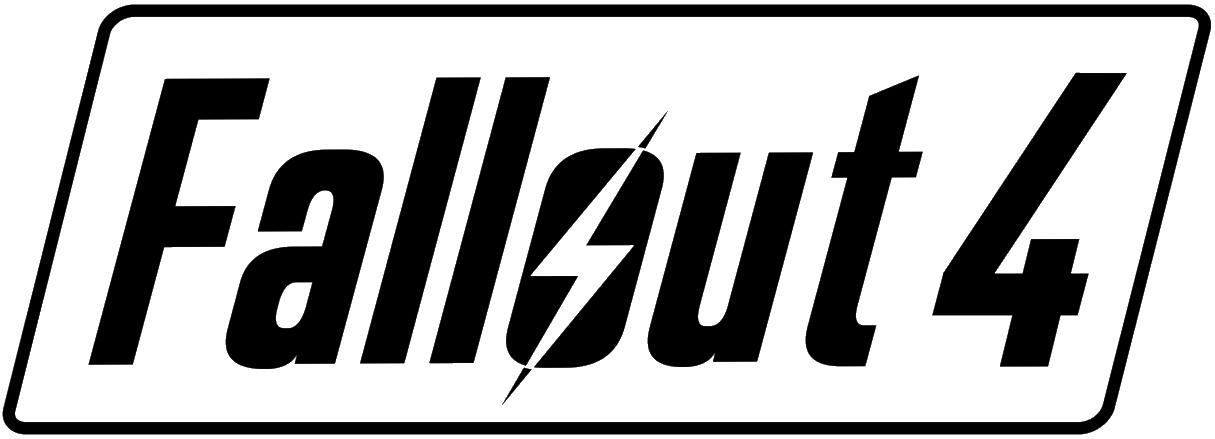 File:fallout 4 Logo.png - Fallout, Transparent background PNG HD thumbnail