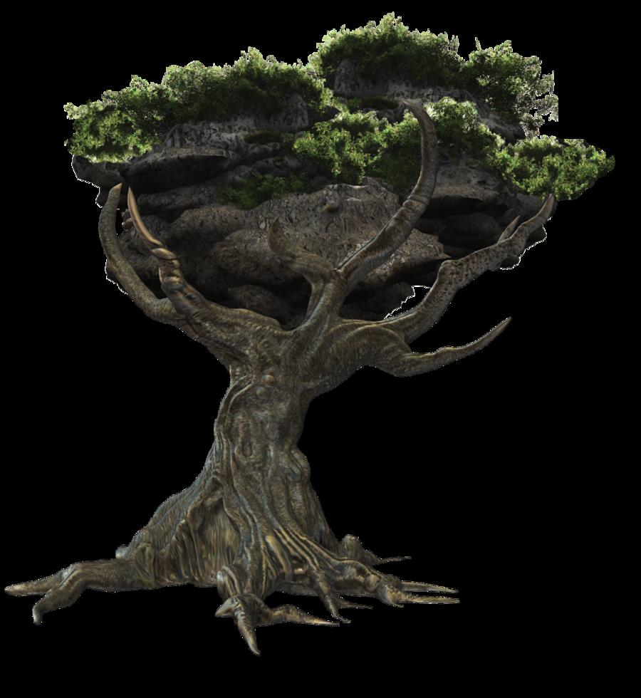 Fantasy Tree Png By Mysticmorning.deviantart Pluspng.com On @deviantart - Fantasy, Transparent background PNG HD thumbnail