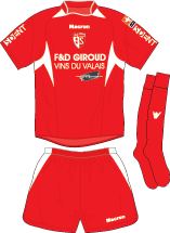 Cof Football Shirt Image - Fc Sion, Transparent background PNG HD thumbnail