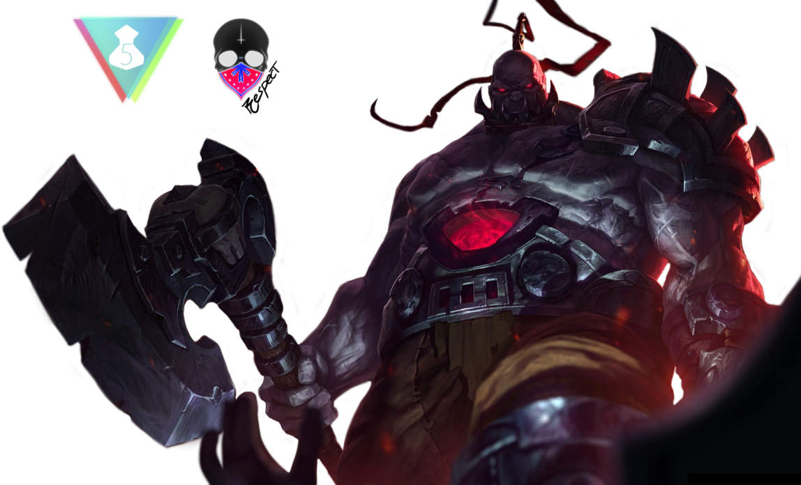 League Of Legends   New Sion Render By Magoshadow Hdpng.com  - Fc Sion, Transparent background PNG HD thumbnail
