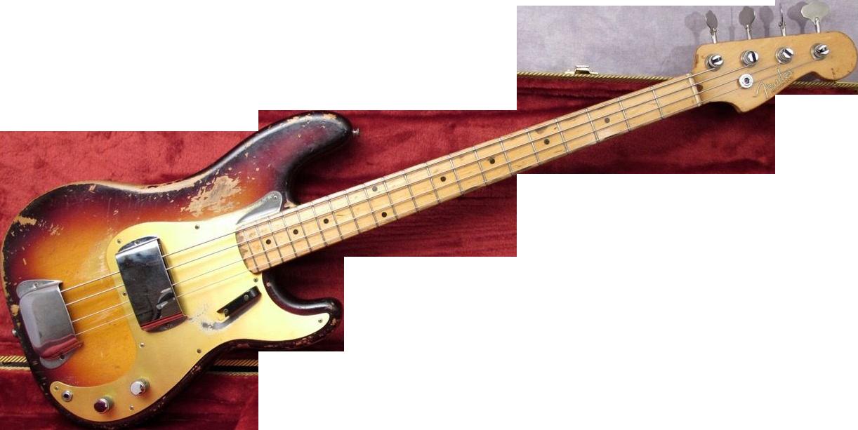 . Hdpng.com 1958 Fender Precision Bass Guitar - Fender, Transparent background PNG HD thumbnail