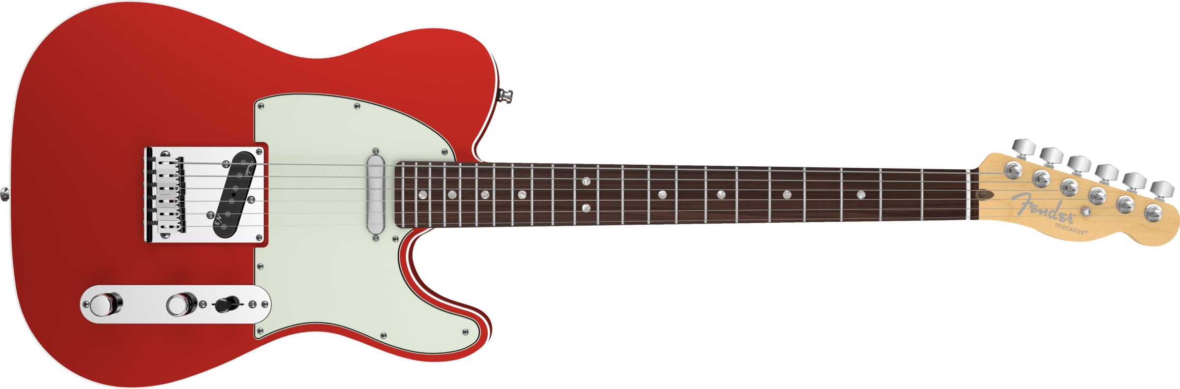 American Deluxe Tele - Fender, Transparent background PNG HD thumbnail