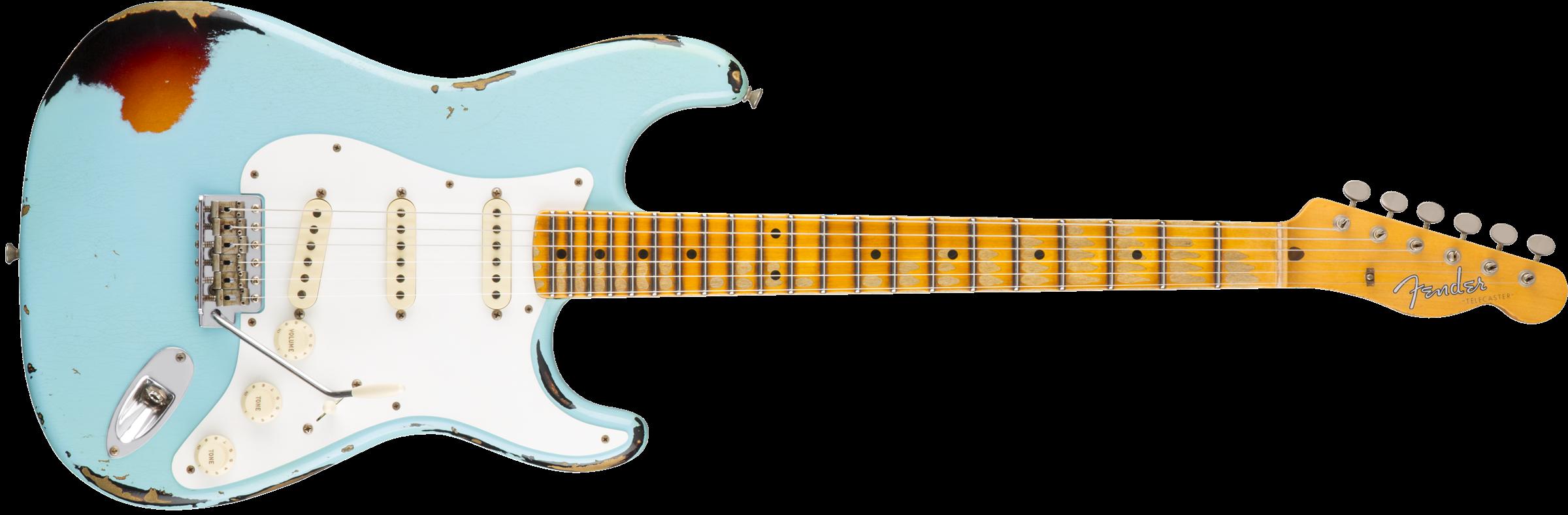 Fender Heavy Relic Mischief Maker - Fender, Transparent background PNG HD thumbnail