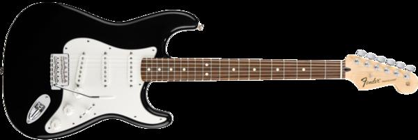 . Hdpng.com Fender Standard Stratocaster Black Pf Hdpng.com  - Fender, Transparent background PNG HD thumbnail