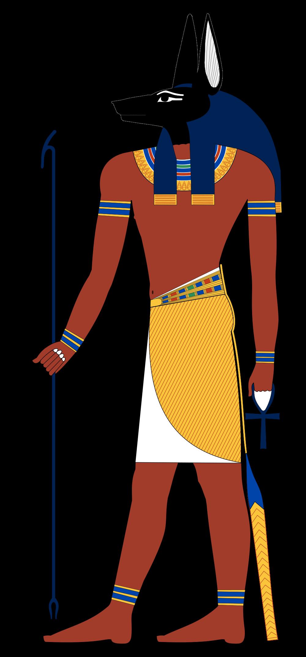 File:anubis Standing.svg - Anubis, Transparent background PNG HD thumbnail