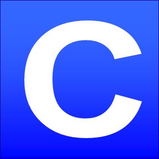 File:blue Square C.png - C, Transparent background PNG HD thumbnail