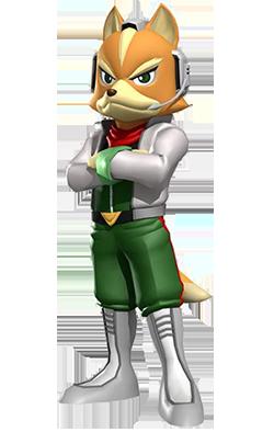 File:fox Mccloud, Star Fox Command.png - Star Fox, Transparent background PNG HD thumbnail