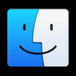 File:mac Finder Icon (Os X Yosemite).png - Mac Os X, Transparent background PNG HD thumbnail