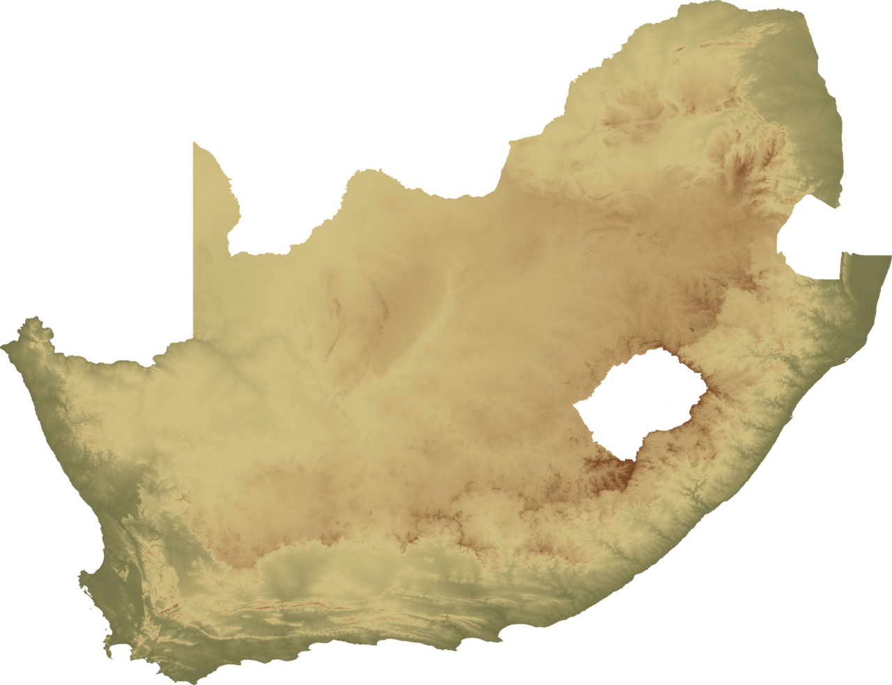 File:south Africa Topo Island.png - Island, Transparent background PNG HD thumbnail