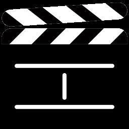 Timestamp Icon - Film Studio, Transparent background PNG HD thumbnail