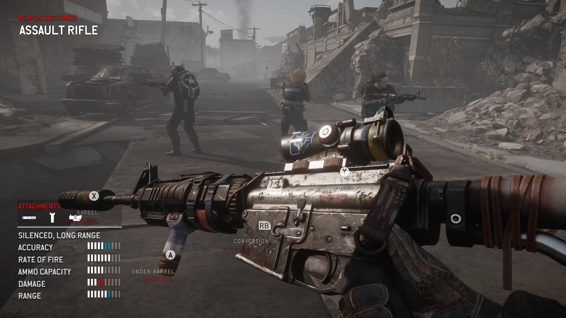 Finally I Wanted To Talk About The Weapon Modding System Involved In Homefront. At First It Is Awesome As You Can Change A Pistol To Be An Smg On The Go And Hdpng.com  - Homefront Video Game, Transparent background PNG HD thumbnail