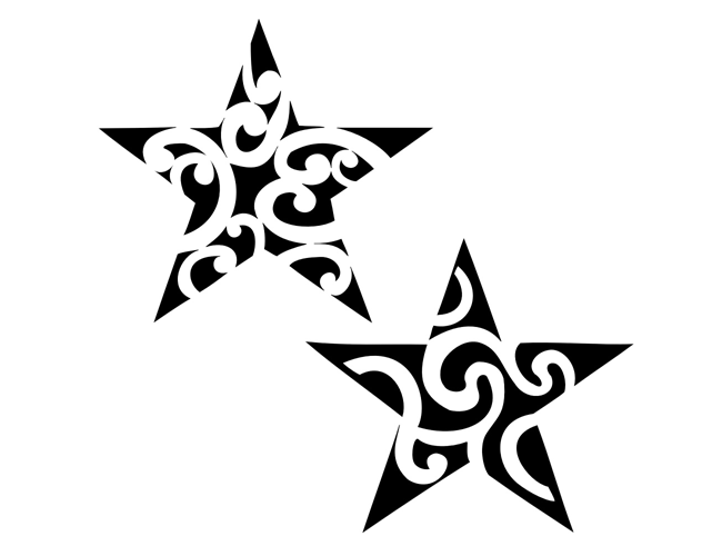 Find This Pin And More On Tattoo Ideas. - Star Tattoos, Transparent background PNG HD thumbnail