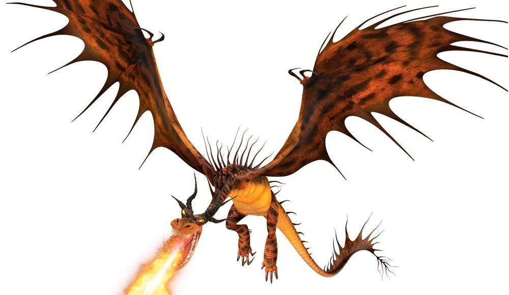 Fire Breathing Dragon PNG HD