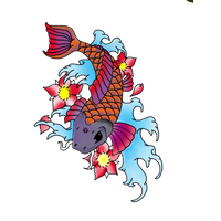 Fish Tattoos Png Clipart Png Image - Fish Tattoos, Transparent background PNG HD thumbnail