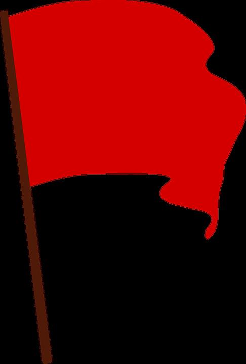 Communist, Flag, Protest, Red, Revolution, Socialist - Flag, Transparent background PNG HD thumbnail