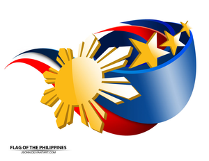 Flag Of The Philippines By Jsonn Image - Flag, Transparent background PNG HD thumbnail