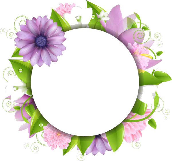 Flowers Borders Png Image PNG