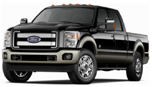 Ford Pickup Truck PNG Black And White