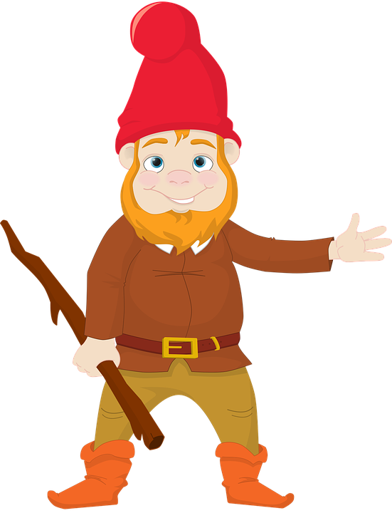 Boots, Garden, Gnome, Lovely, Male, Staff, Stick - Gnome, Transparent background PNG HD thumbnail