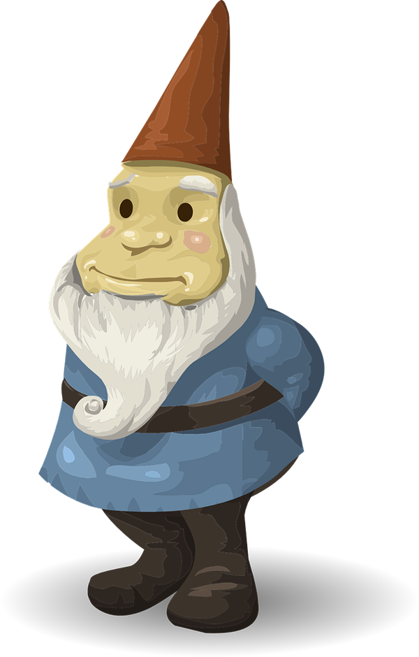 Free Gnome Clip Art · Gnome6 - Gnome, Transparent background PNG HD thumbnail