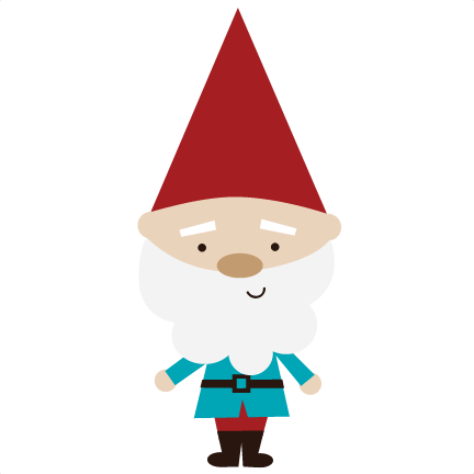 Garden Gnome Svg Files For Scrapbookin Cards Garden Gnome Svg Cut Free Svgs Garden Svg Files - Gnome, Transparent background PNG HD thumbnail