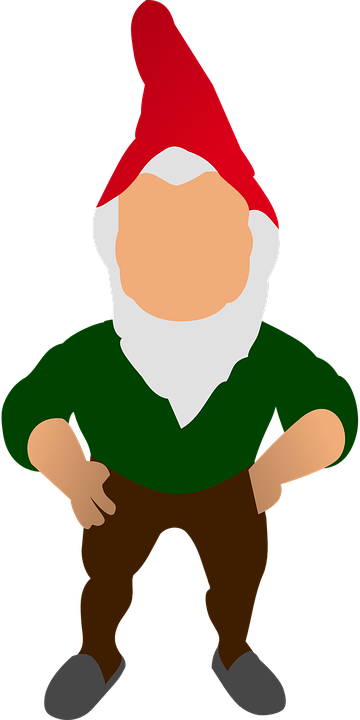 Gnome, Garden, Standing, Decoration, Red Cap - Gnome, Transparent background PNG HD thumbnail