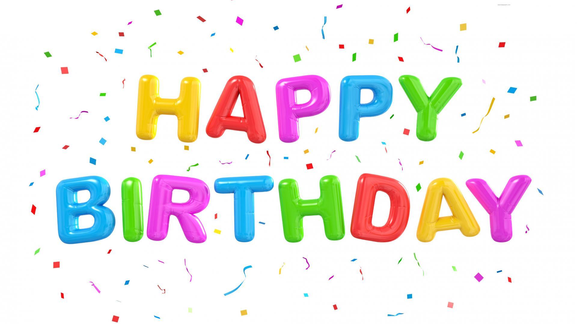 Free Happy Birthday PNG HD Graphics