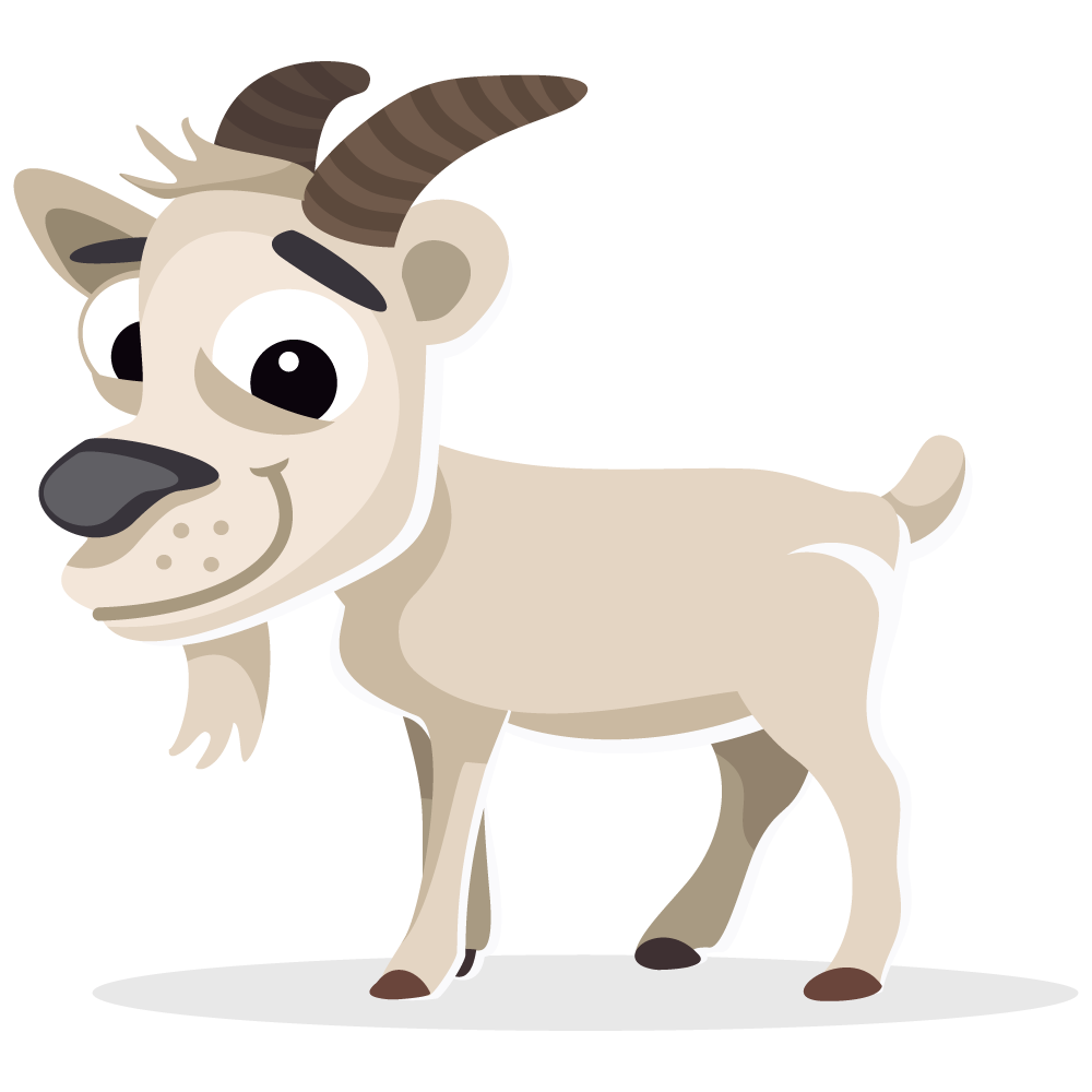 Goat Free To Use Cliparts - Goat, Transparent background PNG HD thumbnail