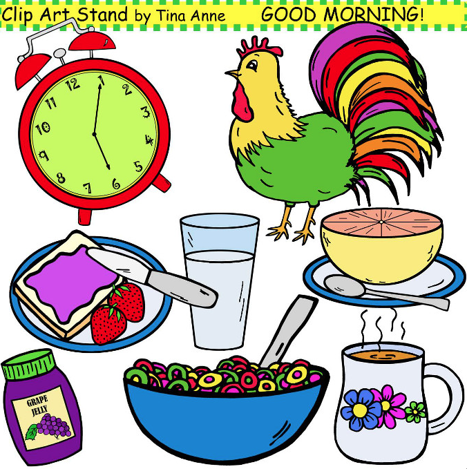 Free Png Have A Good Day - The Lesson Cloud: Free Misc. Lesson   U201Cclip Art Good Morning In Color, Transparent background PNG HD thumbnail