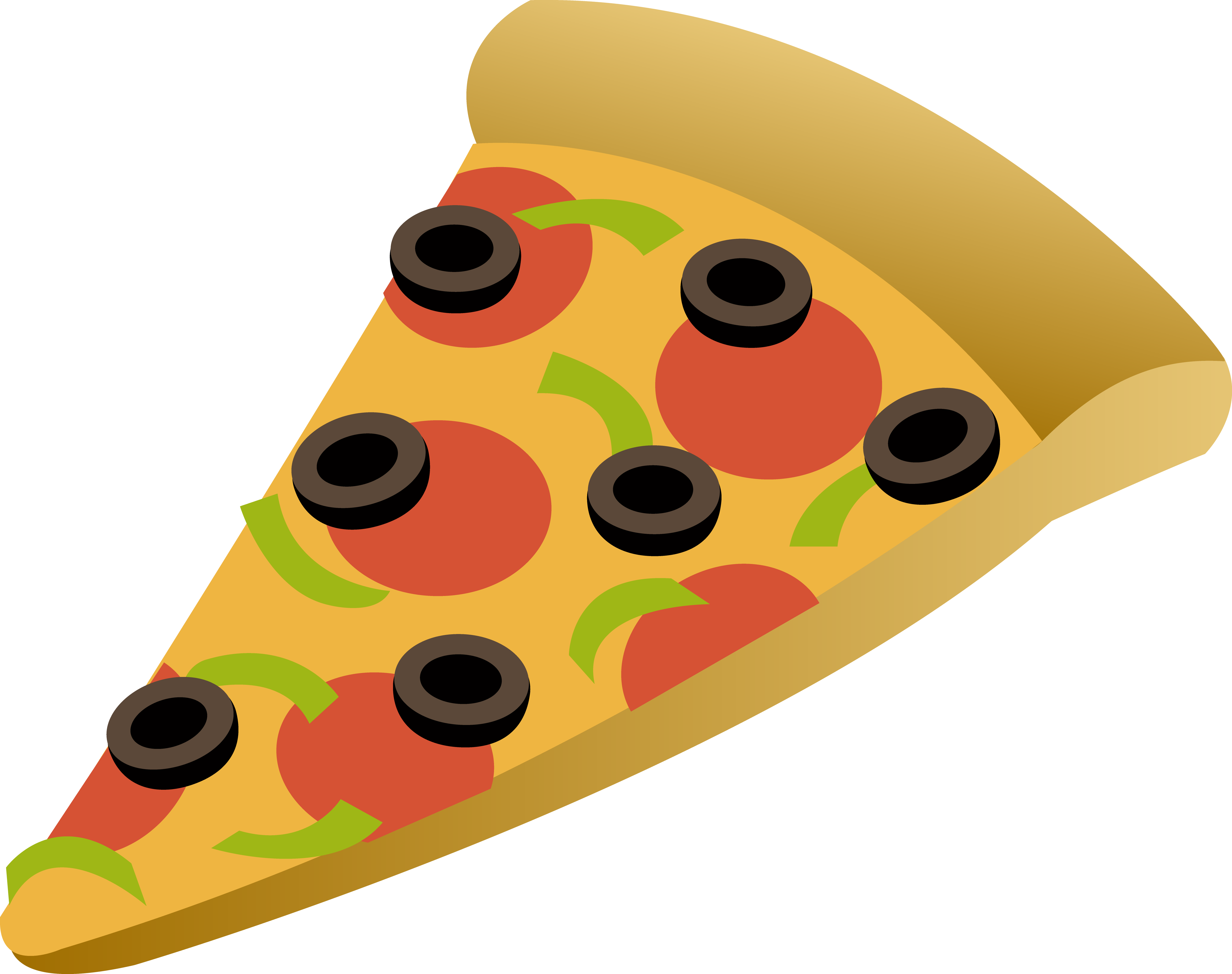 Free Png Pizza Slice - Food Pizza Slice Clipart, Transparent background PNG HD thumbnail
