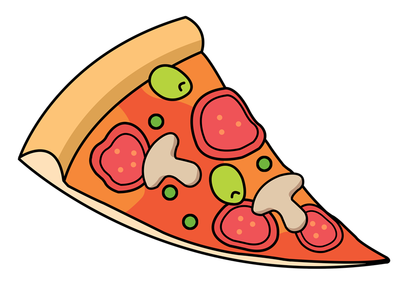 Free Png Pizza Slice - Free Pizza Slice Clipart, Transparent background PNG HD thumbnail