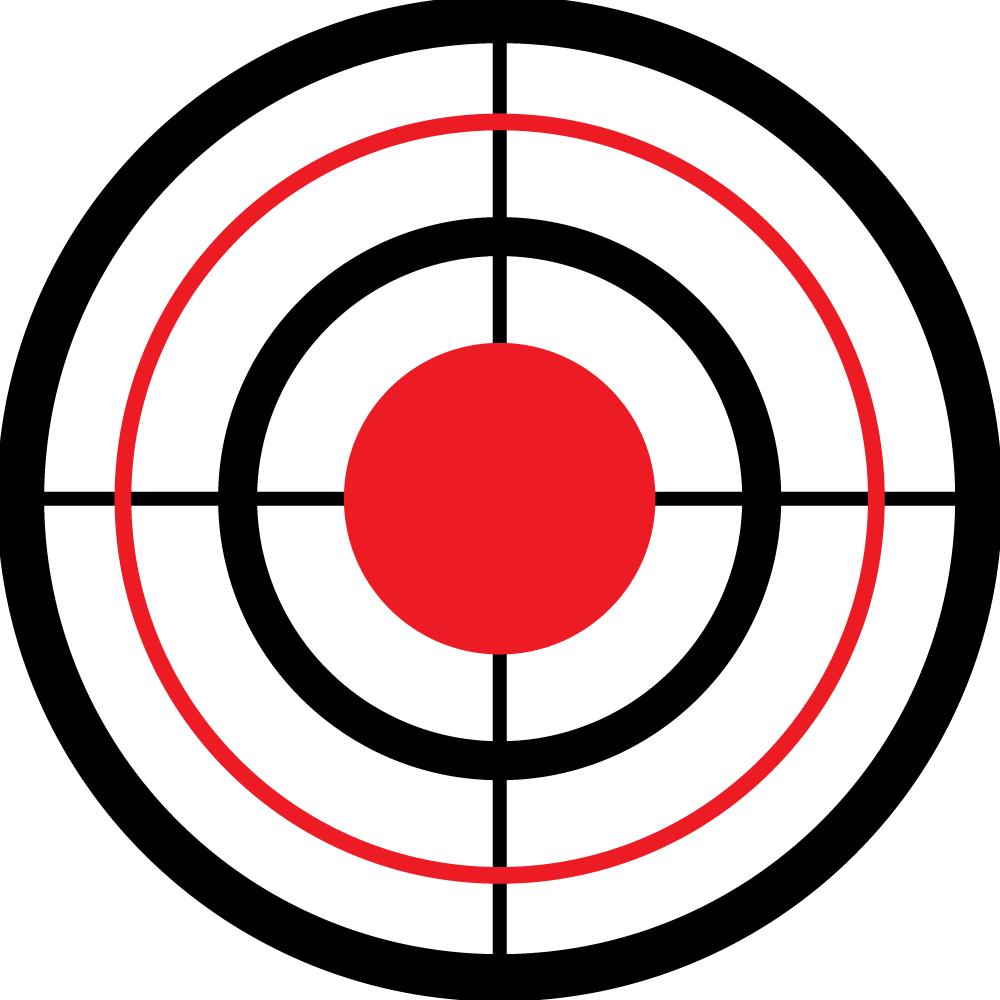 Free Png Target Bullseye - Bullseye With Sites Wall Ball Target   Wall Ball Targets, Transparent background PNG HD thumbnail