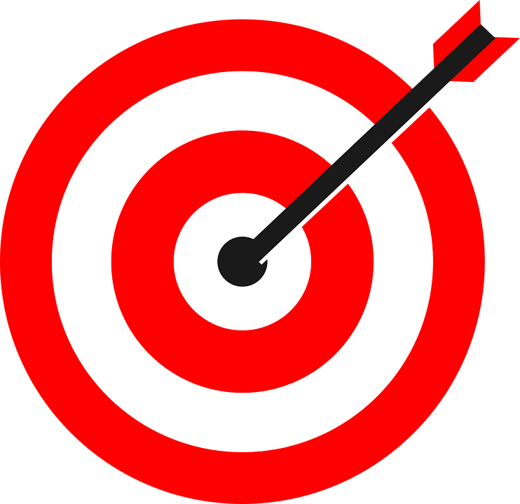 Free Png Target Bullseye - Target, Arrow, Bulls Eye, Bullseye, Marketing, Transparent background PNG HD thumbnail