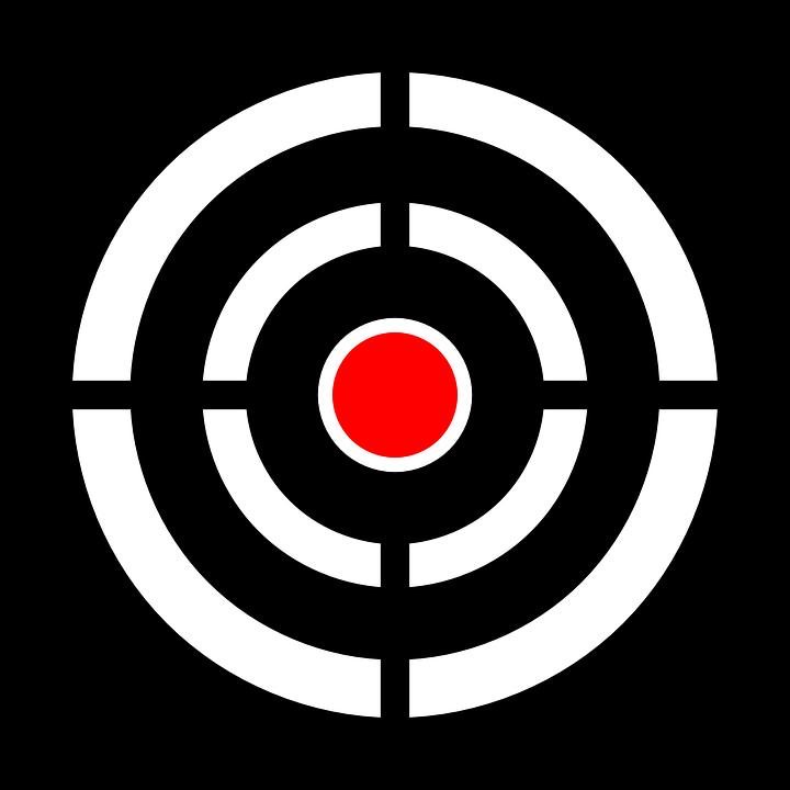 Free Png Target Bullseye - Target, Bullseye, Aim, Arrow, Gun, Bow, Accuracy, 3D, Transparent background PNG HD thumbnail