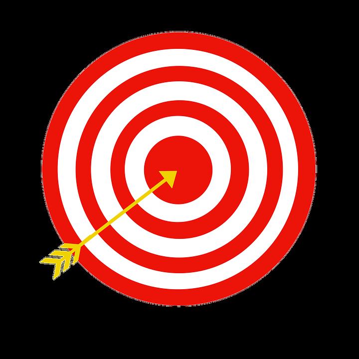 Free Png Target Bullseye - Target, Bullseye, Arrow, Transparent background PNG HD thumbnail