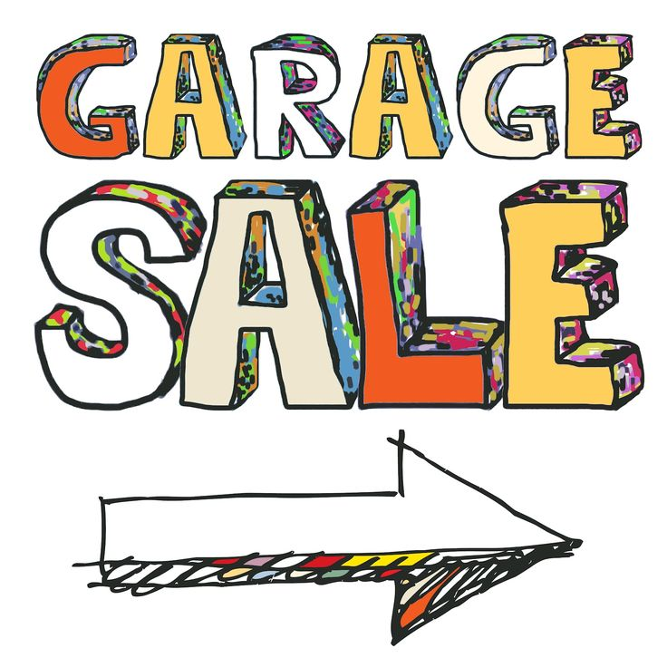 Free Png Yard Sale Sign - Free Yard Sale Clip Art Clipart 4, Transparent background PNG HD thumbnail