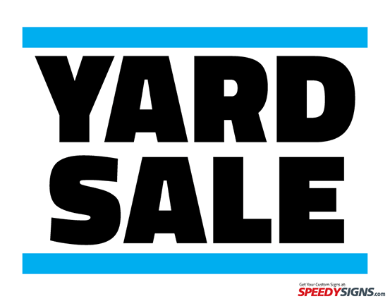 Free Png Yard Sale Sign - Printable Yard Sale Sign Template, Transparent background PNG HD thumbnail