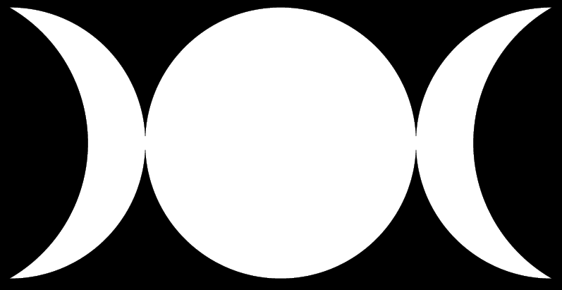 File:wiccan Triple Moon 4.png - Wiccan, Transparent background PNG HD thumbnail