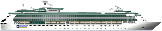 Freedom Of The Seas. Type: Cruise Ship - Cruise Ship, Transparent background PNG HD thumbnail