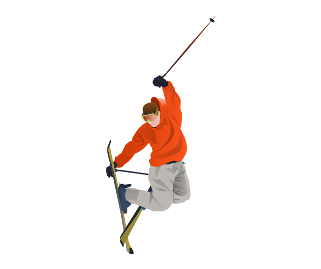 Freestyle Skier, Freestyle Skier, Freestyle Skiing, Freestyle, - Skiing, Transparent background PNG HD thumbnail