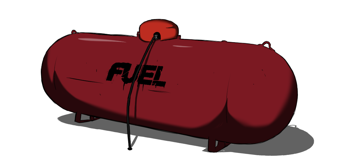 Fuel Tank - Fuel Tank, Transparent background PNG HD thumbnail