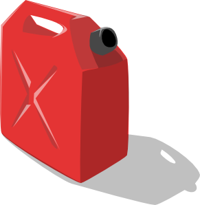 Gas Container Clip Art - Fuel Tank, Transparent background PNG HD thumbnail