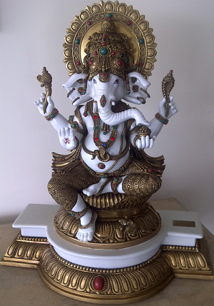 Ganesh Idol.png - Ganesh Idol, Transparent background PNG HD thumbnail