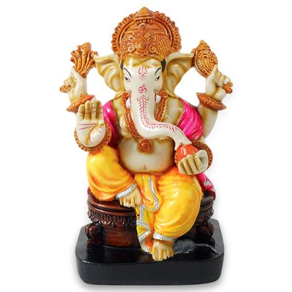 Ganesh Ji Wallpapers Hd Free - Ganesh Idol, Transparent background PNG HD thumbnail