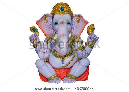Ganesha Idol,hindu God - Ganesh Idol, Transparent background PNG HD thumbnail