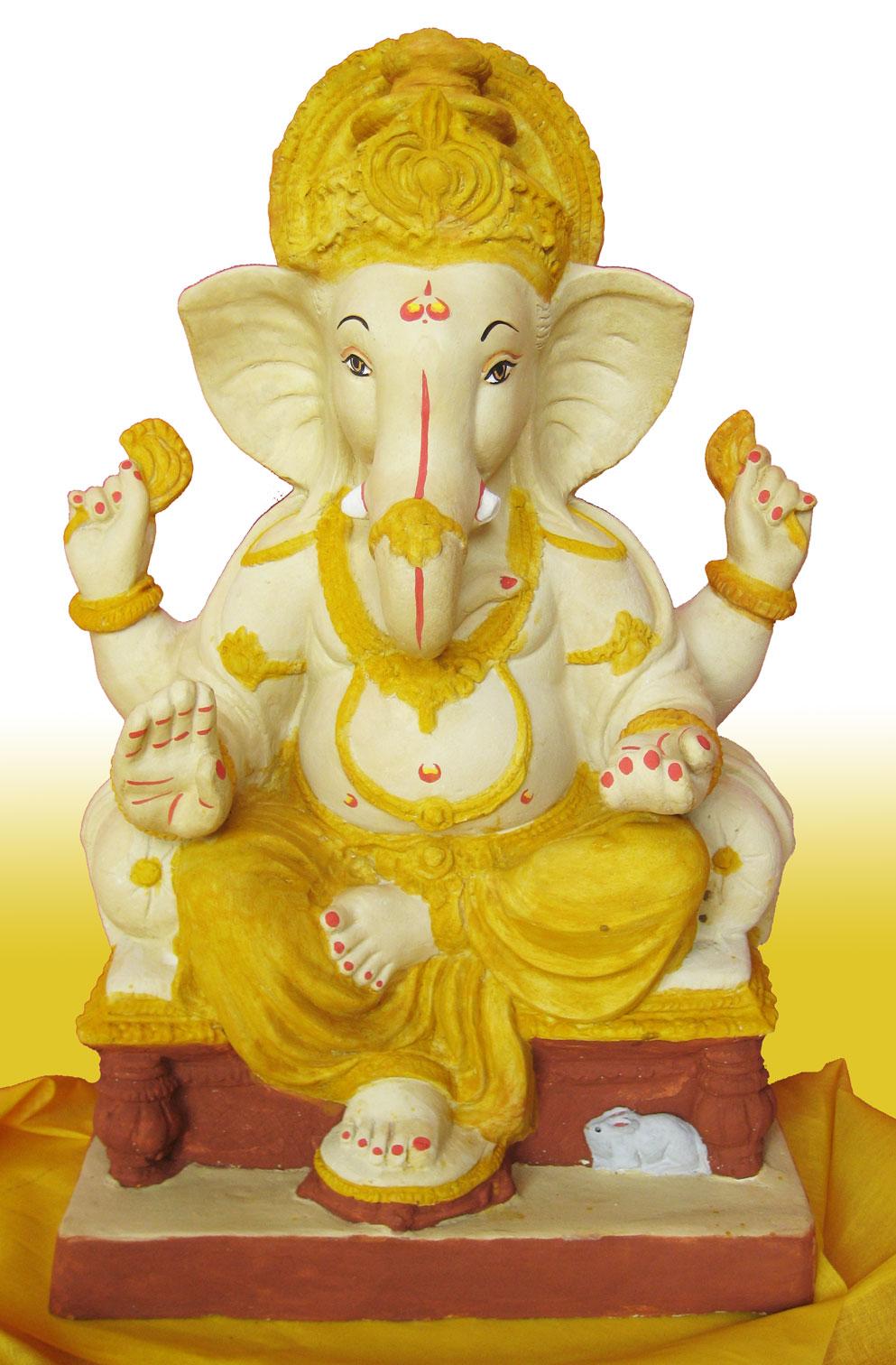 The Hdpng.com  - Ganesh Idol, Transparent background PNG HD thumbnail