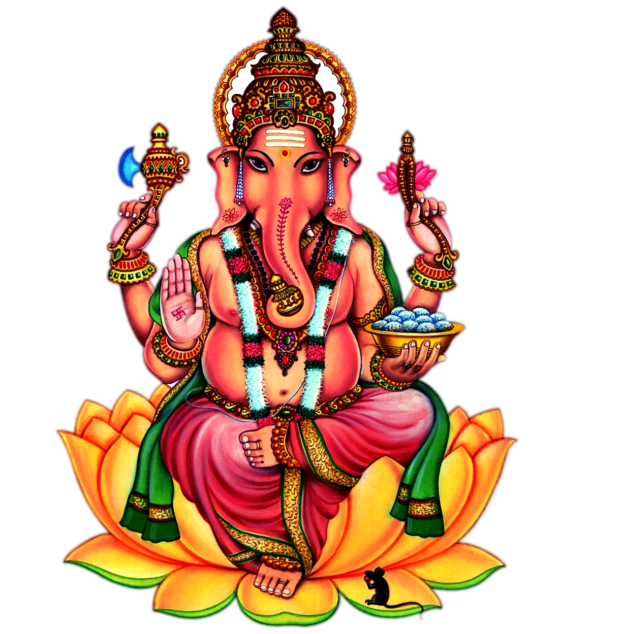 Sri Ganesh Png - Ganesha Png Images Transparent Free, Transparent background PNG HD thumbnail