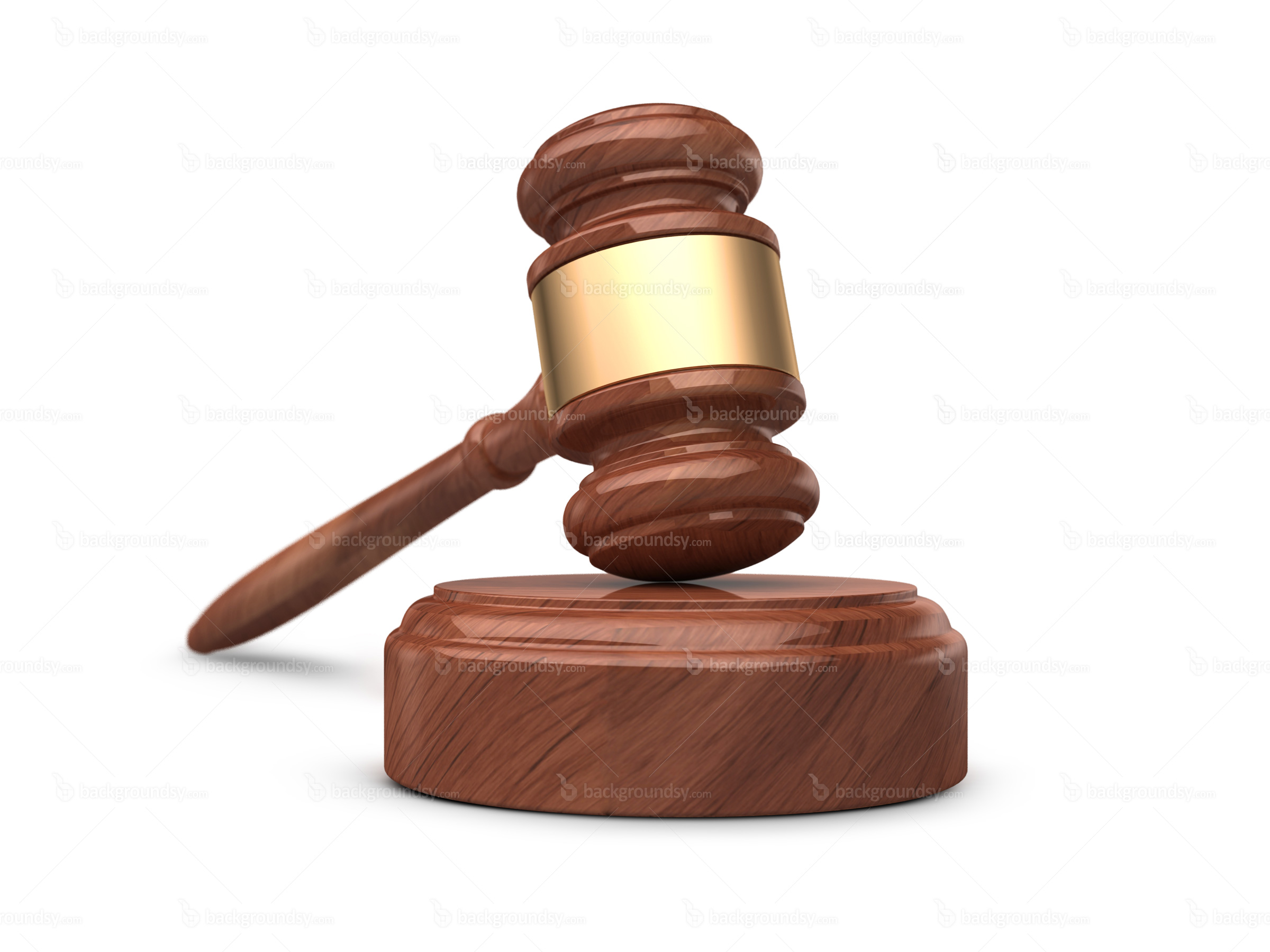 Gavel And Sound Block - Gavel, Transparent background PNG HD thumbnail
