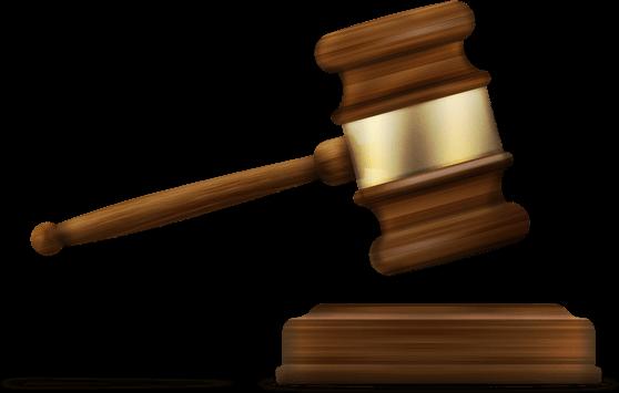 Legal Document Management - Gavel, Transparent background PNG HD thumbnail